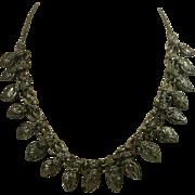 Vintage Ethnic Repousse Drops Necklace