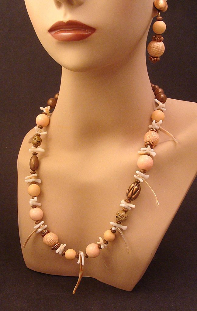 One of a Kind Signed Designs by Paula Demi Parure