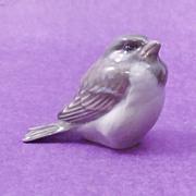 Royal Copenhagen Sparrow Puffed Model #1519