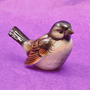 Charming GOEBEL Porcelain Sparrow Bird