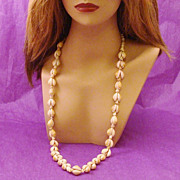 Gorgeous Natural Cowrie & Conch Shell Necklace includes FREE Shipping & Tracking