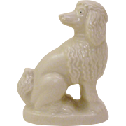 Classic Victorian Mantle Poodle Dog