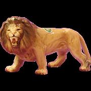 Stunning Melba Ware Roaring Male Lion Statue