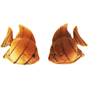 1950's Collectible Angel Fish Salt & Pepper Shakers