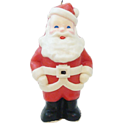 Vintage Jolly Old Saint Nick Santa Novelty Candle by Suni