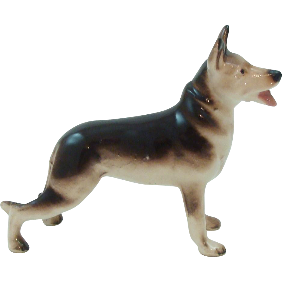 Stunning German Shepherd Dog Figurine