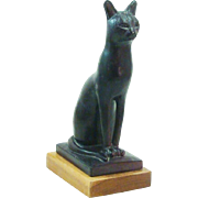 "Stunning ""Egyptian Cat"" Sculpture by Austin - Red Tag Sale Item"