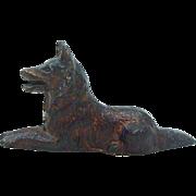 Miniature Metal Dog