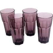 Gibraltar by Libbey Rock - Sharpe Violet (Dark Purple) 16 Oz Cooler Tumblers