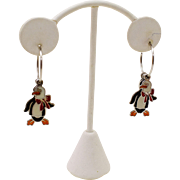 """Whimsical """"Layered"""" Dangling Penguins"""