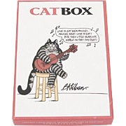 Highly Sought After Whimsical B. Kliban Catbox Cat Notecards & Envelopes by Pomegranate in Original Box