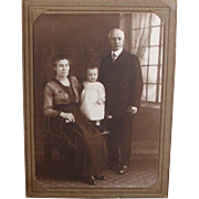 Victorian Era Family Cabinet Photograph
