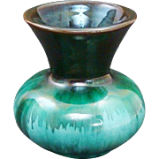 Discontinued Blue Mountain Pottery Trumpet Vase