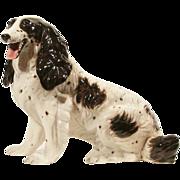 Mid-Century Modern Hollywood Regency Ronzan Spaniel Dog Statue Made in Italy