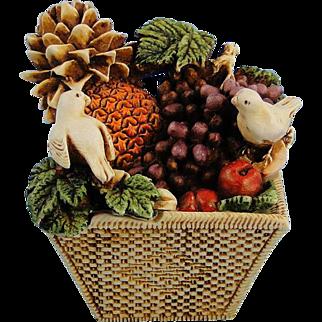 Harmony Kingdom Peace Offering Doves Treasure Jest Box