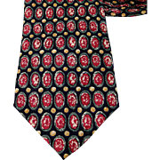 Vintage Neck Tie Corpus Christi College Silk Necktie