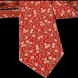 Vintage Necktie Tango Max Raab Made in USA Cotton Neck Tie