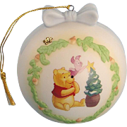 Pooh & Friends Porcelain Ornament Limited Edition Christmas