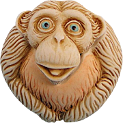 Harmony Kingdom Dizzie Roly Poly Monkey Box Figurine