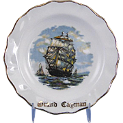 Bone China Ashtray Liverpool Road Pottery Souvenir Grand Cayman Wedgwood
