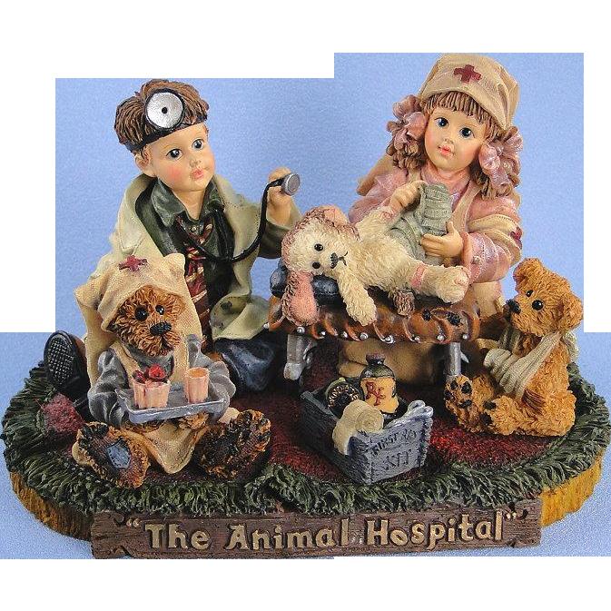 Boyds Bears Dollstone Animal Hospital Limited Edition