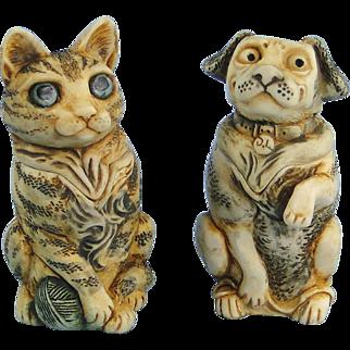 Harmony Kingdom Pet Parade Set Mini Treasure Jests Limited Editions