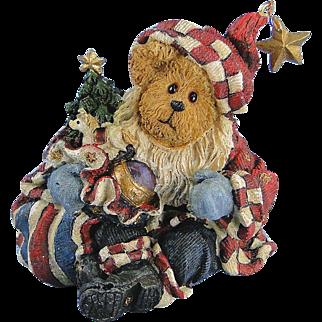 Boyds Nicholas Bearyproud Christmas Bearstone Exclusive