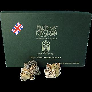 Harmony Kingdom 2005 Club Kit Punk Hedgehog Redux 10th Anniversary