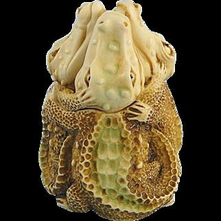 Harmony Kingdom Swamp Song Alligators Box Figurine Treasure Jest