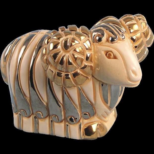 Artesania Rinconada White Ram #701W Silver Anniversary