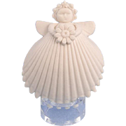 Margaret Furlong Daisy Miniature Angel Ornament Signed
