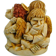 Harmony Kingdom Paradise Found Angels Treasure Jest Box