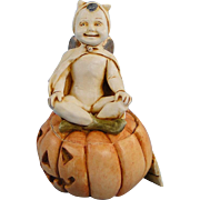 Harmony Kingdom Pumpkinfest Special Event Box Figurine