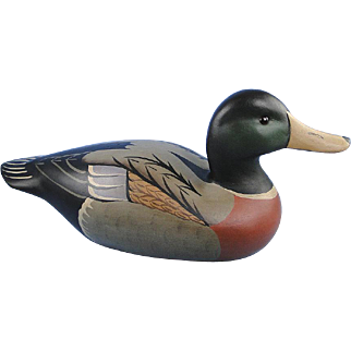 Boyds Collection Mallard Wood Decoy Classic