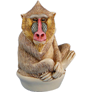 Harmony Kingdom Up To Scratch Baboon Treasure Jest