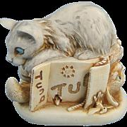 Harmony Kingdom Tony's Tabbies Cat Mouse Treasure Jest Rare
