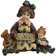 Boyds Dollstone Jean the Bakers Premiere Edition Vintage