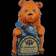 DeBrekht Russian Bear Dealer Logo Rare Retired