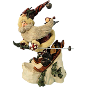 Boyds Carvers Choice Santa Folkart In the Nick of Time
