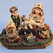 Boyds Dollstone Animal Hospital Limited Edition