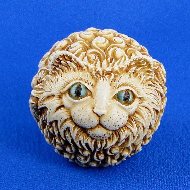 Harmony Kingdom Rosie Roly Poly Cat Box Figurine