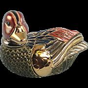 Artesania Rinconada Duck #703 Silver Anniversary Series