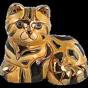Artesania Rinconada Cat #720C El Gato Silver Anniversary Series