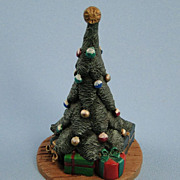 Vintage Jim Shore Christmas Tree Figurine Rare Designs Americana