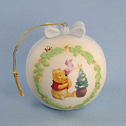 Pooh & Friends Porcelain Ornament Limited Edition Winnie the Pooh