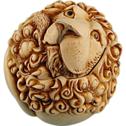 Harmony Kingdom Garcia Roly Poly Lion Box Figurine Adam Binder