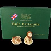 Harmony Kingdom Club Kit 2002 Rule Britannia