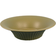 Hyalyn USA Art Pottery Bowl 1950s Porcelain North Carolina Vintage