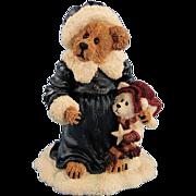 Boyds Genevieve Berriman Christmas Bearstone