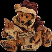 Boyds Bears Kringle and Bailey Christmas Bearstone Classic